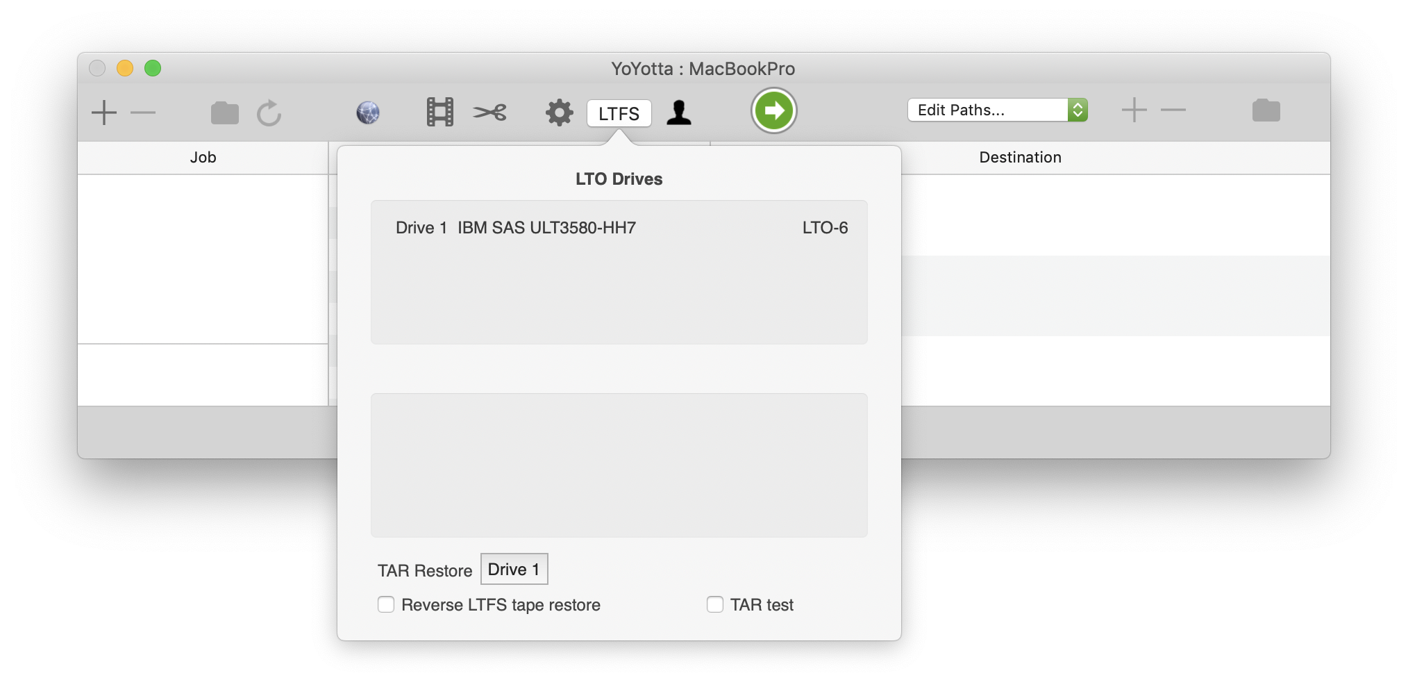 tar unrecognized archive format mac os